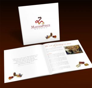 Masterpiece Mosaics Brochure by Zapp Multimedia Gloucestershire UK