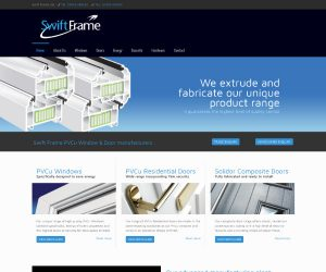 SwiftFrame website by Zapp Multimedia Gloucestershire UK
